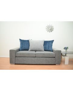 Bickley 3 Seater Sofa in Grey Fabric