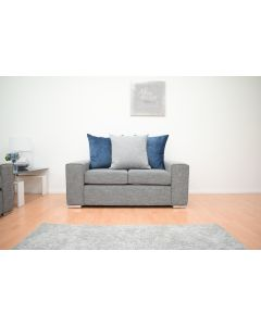 Bickley 2 Seater Sofa in Grey Fabric