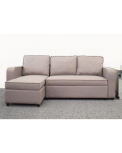 Laxey Sofa Bed in Grey Fabric