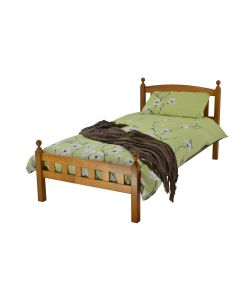 Sophia Wooden Bed - Antique Pine