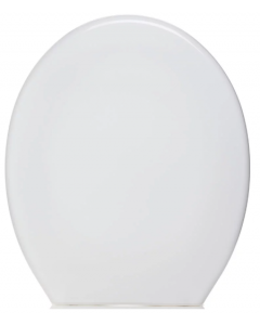 Entry Level - Plastic Toilet Seat in White