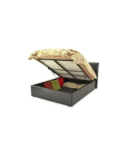 Ottoman Storage Bed - Brown
