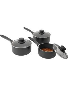 3 Piece Aluminium Pan Set