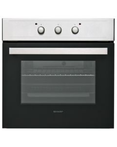 Sharp Standard Single Fan Assist Oven - Stainless Steel