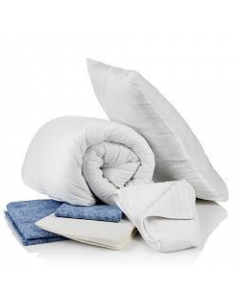 Bedding Pack with 10.5 Tog Duvet - Double